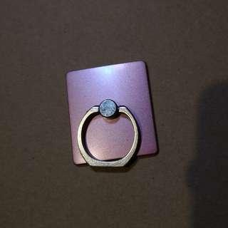 簡約粉紅❇️手機指環