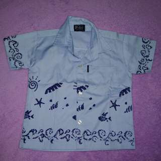Light blue polo for toddler (size 2)