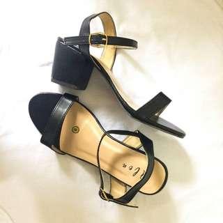 Alen's Block Heels, High Heels, Wedge