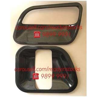 Toyota Hiace - Regiusace Van 4 Pieces Door Carbon Fiber Bowl / Hiace Accessories