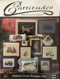 Cattitudes The Fourth Cross Stitch Book
