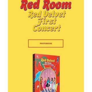 RED VELVET 1ST CONCERT PHOTOBOOK - RED ROOM