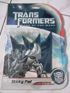 [Nego/barter] [Transformers] Sticky Pad Mobil