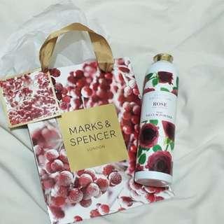 Marks & spencer talc powder