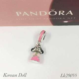 Pandora Korean Doll Charm