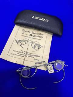 Antique/ Vintage Collectibles: SPEERA BINOCULAR MAGNIFIERS(Directions for Adjustment )