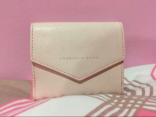 Sale charles and keith wallet original with box