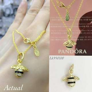 Pandora Queen Bee Necklace