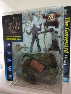 Spawn Move - The Grave Yard Playset