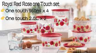 Royal Red Rose one touch