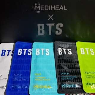 MEDIHEAL X BTS MASKS