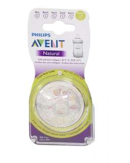 Ready stock Philips AVENT Natural Range Teats (Twin Pack)