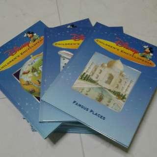Children encyclopedia ( Disney) 24books price nego