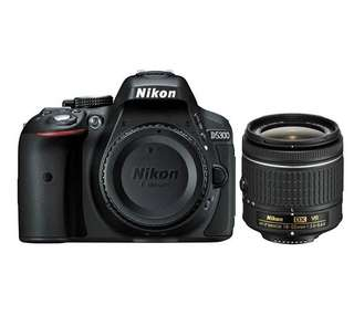 Kredit Kamera DSLR Nikon D5300 kit 18-55 mm ready PS4 HP Laptop