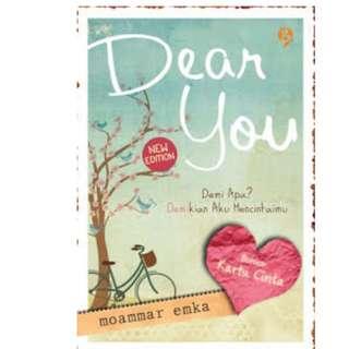 Ebook Dear You - Moammar Emka