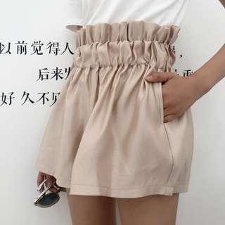 全新 女裝 Q510593 可可裡小姐夏裝寬松花苞褲闊腿褲短褲褲裙顯瘦休閑褲女