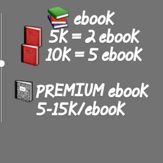 Pricelist ebook 🎉