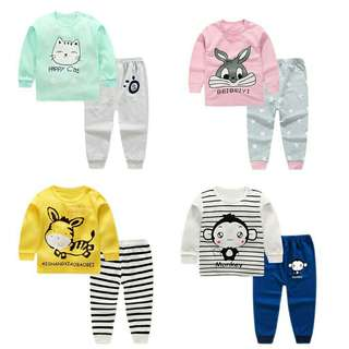 PAJAMAS BABY CLOTH SET