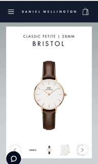 100% Original Daniel Wellington Watch (28mm) - Woman