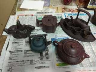 裝飾 紫砂茶壺