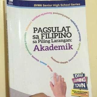 Pagsulat sa Filipino sa Piling Larangan