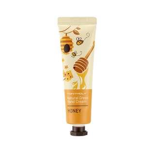 Tony Moly Natural Green Hand Cream - Honey, 30ml (NEW)