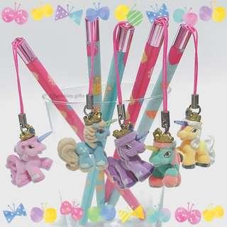 RESTOCKED 🦄 Cute Pencil with Unicorn Pony Charm