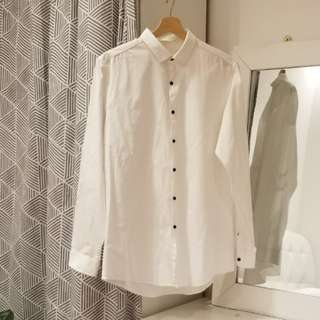 TOPMAN White Shirt SlimFit