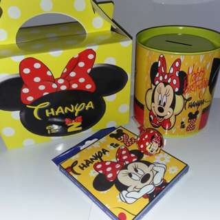 Customised Minnie Mouse Goodie Box