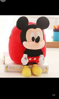 Kid Mickey Mouse bag Ready stock