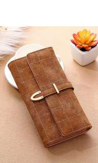 (PO) Women Leather Wallet
