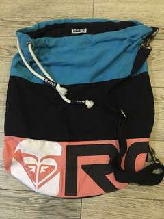 ROXY drawstring/backpack