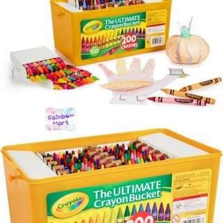 美國進口🇺🇸Crayola Ultimate 蠟筆套裝(200支/盒)