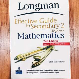 Effective guide to Sec 2 mathematics