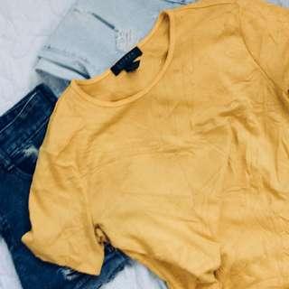 Authentic Ralph Lauren Mustard Shirt
