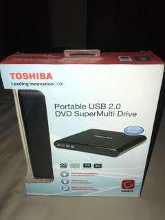 Toshiba portable usb 2.0 dvd multi drive