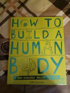 FOR SALE - How to Built a Human Body (NEW)