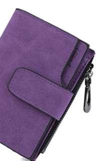 (PO) Ladies Short Wallet