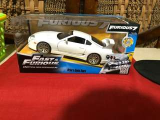 Diecast mobil Fast and Furious 7