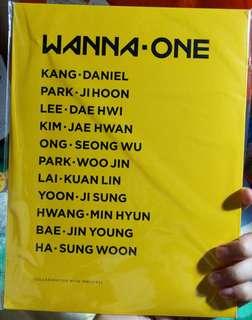 Wanna One x Innisfree 邕版