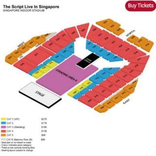 LOOKING FOR The script 2X ticket willing to buy as a pair