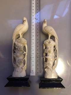 Old pair of Birds. - not bone