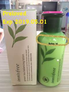 INNISFREE GREENTEA BALANCING LOTION
