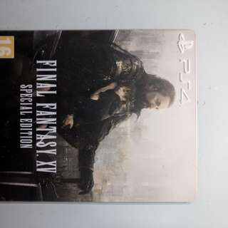 PS4 final fantasy 15 steel box edition