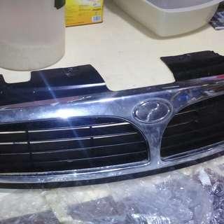 Perodua kembara front grille