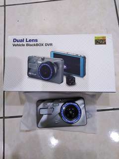 Dual Lens Vehicle Black Box DVR Super HD