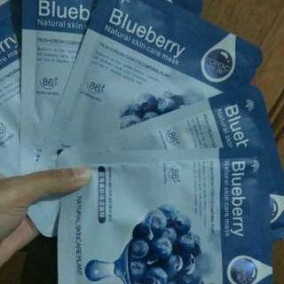 Rorec Blueberry Sheet Mask