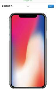 iphone x Grey 256GB