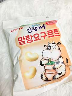 Lotte Yogurt Candy from Korea 韓國樂天乳酸糖