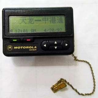懷舊mo記call機,操作正常